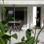 Terrasse gîte la Rhune Ainhoa Pays Basque