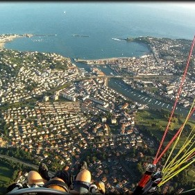 Paramoteur visite Pays Basque